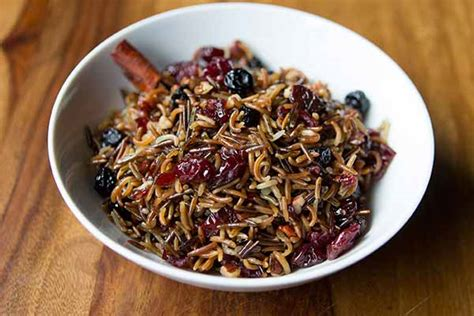 wild rice salad  dried fruits