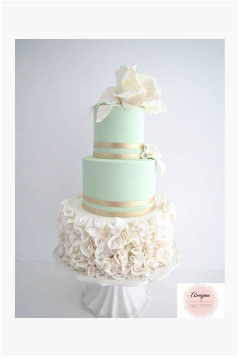 mint wedding cakes youll love mon cheri bridals