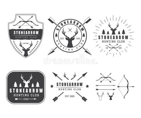 set of vintage labels logo badge and design elements stock vector 55528803