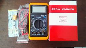 Digital Multi Meter M890c Manual