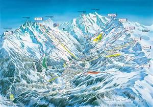 Plan des pistes de Méribel, guide des stations ski FLV fr