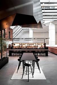 contemporary workplace with a distinctive hotel like aesthetic
