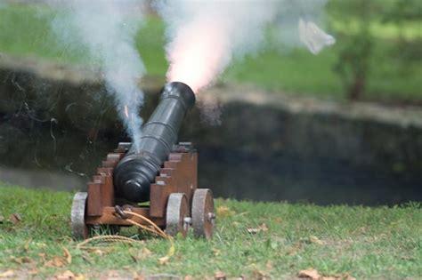 Cannon Firing Demonstration