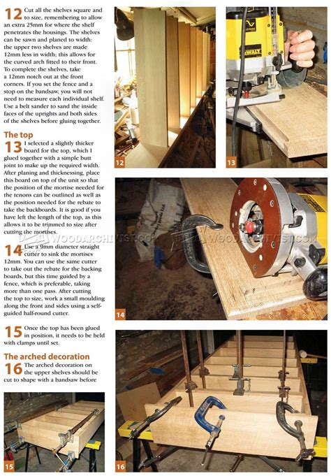 narrow book shelves plans woodarchivist