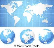 Globen Und Karten : globen weltkarte landkarte gesch ftsillustration karten vektoren illustration suche ~ Sanjose-hotels-ca.com Haus und Dekorationen