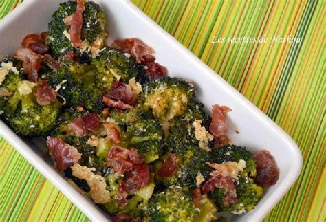 cuisiner brocolis frais recette de brocolis poêlés à la pancetta et au parmesan