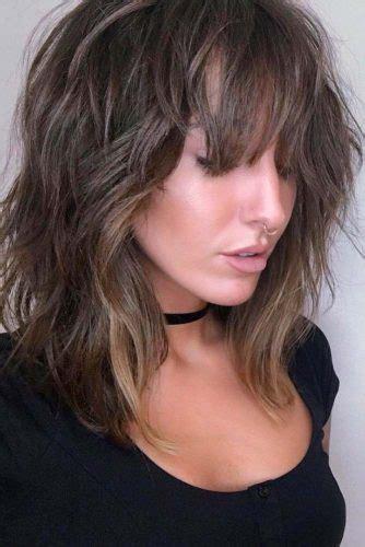layered lob haircut ideas   hairslondon