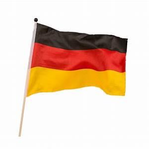 Deutschland Flagge Bilder : fahne deutschland flagge 30x45cm auf holzstab online kaufen tambini ~ Markanthonyermac.com Haus und Dekorationen