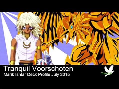Marik Ishtar Deck 2015 by Yugioh Character Deck 07 Marik Ishtar