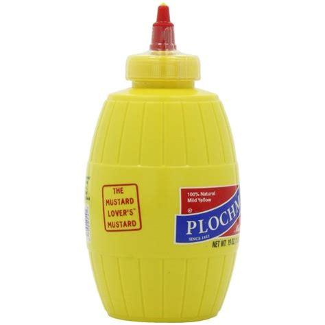 Plochmans Mild Yellow Mustard - Pulju.net