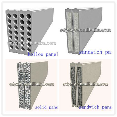 precast concrete wall panel machine partition wall panel