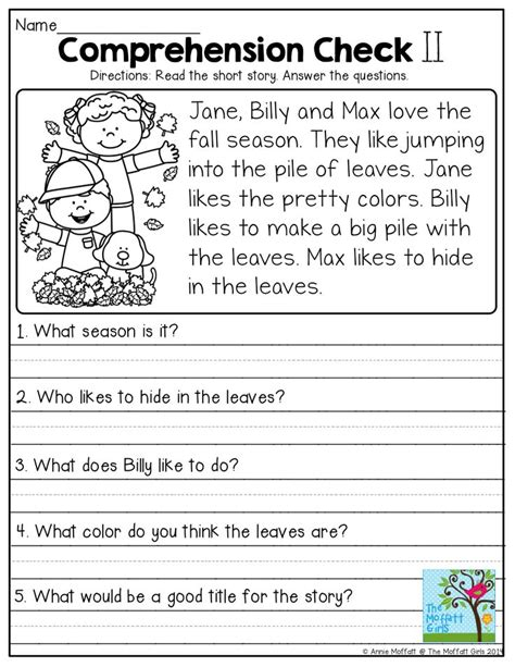 image result for simple 4th grade writing passages ot
