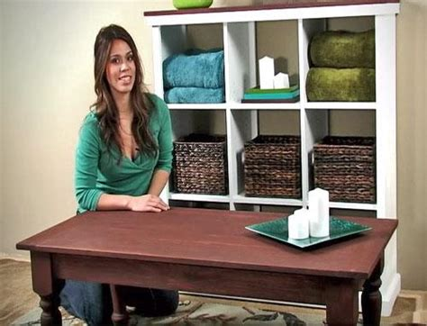 Videoproject Video Turned Leg Coffee Table  Easy Diy