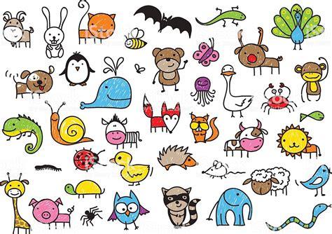 kids drawings  animals stock vector art  istock