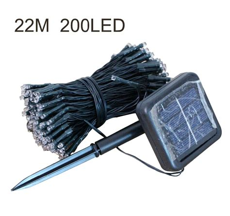 200 led lights bulb solar led string lights