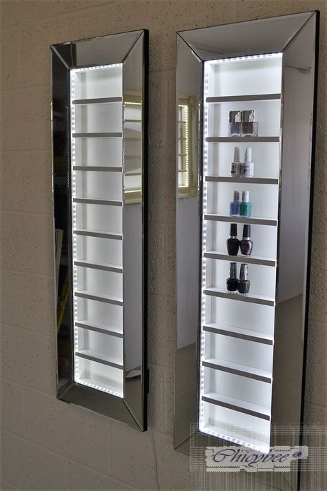 lighting for kitchen cabinets nail rack display cabinet make up organizer 9442