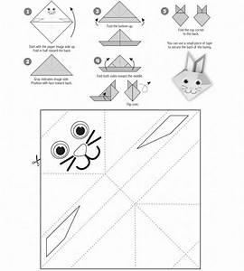 Hase Vorlage Zum Ausschneiden : origami hase basteln 19 interessante ideen anleitungen ~ Lizthompson.info Haus und Dekorationen