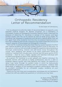 Letter Of Recommendation Residency Letter Of