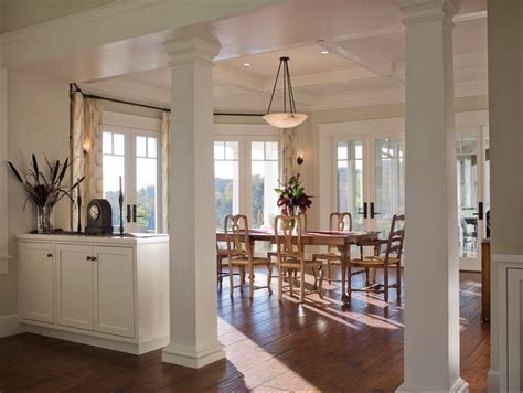 how to decorate a column 10 creative ways to use columns as design features in your home freshome com