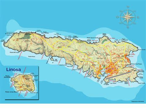 Mappa di Lampedusa, Mappa dal Satellite di Lampedusa ...