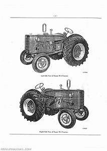 International Harvester Super W4 Tractor Parts Manual