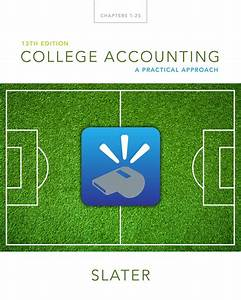 Mamngerial Accounting 13 Edition Solution
