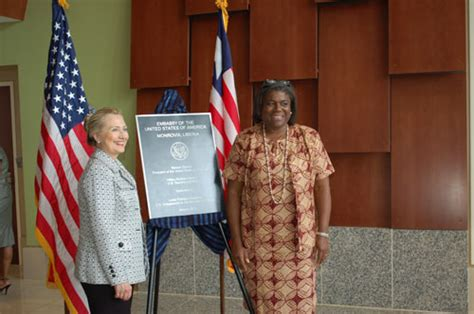 officially  linda thomas greenfield  liberia