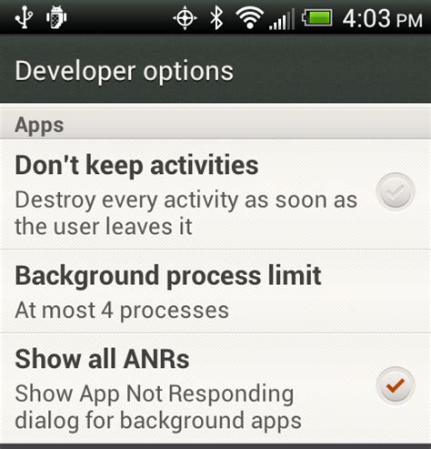 Android Background Process Limit Developer Options Background Process Limit Page 2