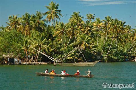 kerala backwaters india shunya
