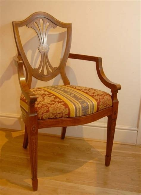 set 10 painted sheraton dining chairs for sale