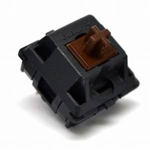Cherry MX Brown Keyswitch - Plate Mount - Tactile - 50 ...