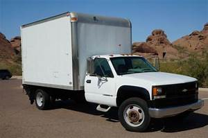Purchase Used 1996 Chevrolet 3500hd Diesel Low Miles Box Truck With Lift 1 Owner Az Rust Free In