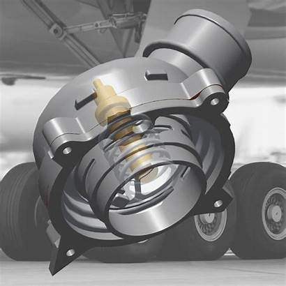 Actuator Thermal Landing Gear Vernet Aerospace Actuators