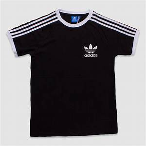 Adidas Trefoil Design Adidas Black California Sport Ess Tee The Rainy Days