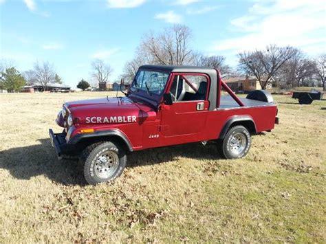 jeep scrambler for sale on craigslist 1981 jeep scrambler cj8 manual for sale vian ok craigslist
