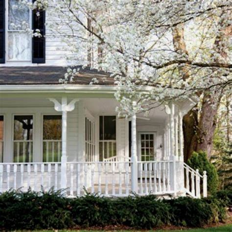 wraparound porch wrap porch home ideas