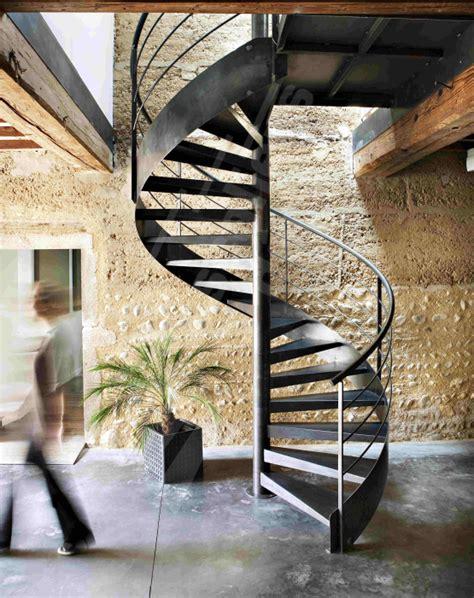 escalier contemporain spir d 201 co 174 contemporain