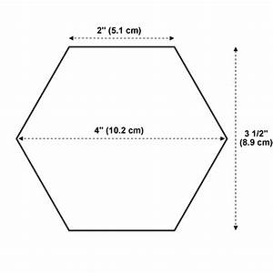 best photos of 10 inch hexagon template hexagon shape 3 With 8 inch hexagon template