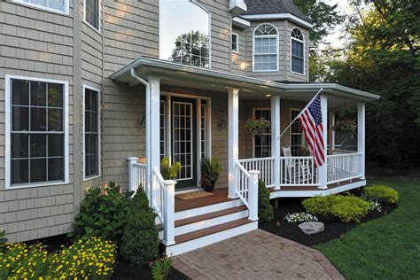 adding  front porch   ranch house pictures randolph indoor  outdoor design