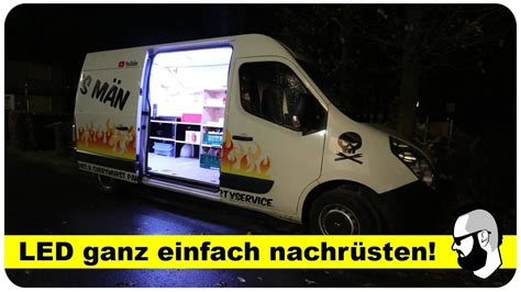 led beleuchtung auto led beleuchtung im laderaum f 252 r transporter wohnmobil auto anleitung