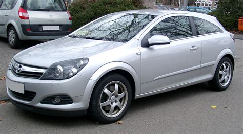 Opel Astra H by File Opel Astra H Gtc Front 20080226 Jpg Wikimedia Commons