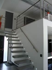 Main Courante Escalier Intérieur : main courante escalier encastree accueil design et mobilier ~ Edinachiropracticcenter.com Idées de Décoration