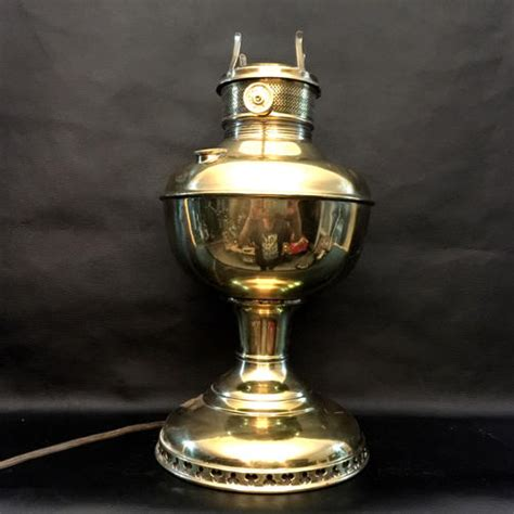 antique oil ls converted to electric brass antique brass oil l converted to electric for