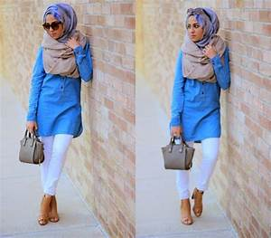Fashionable summer outfits with modern hijabs - HijabiWorld