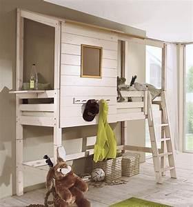 Hochbett Holz Kinder : abenteuer hochbett kids paradise hochbetten abenteuer ~ Michelbontemps.com Haus und Dekorationen