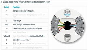Nest Learning Thermostat Wiring Diagram For Heat Pump  U2013 Wiring Diagram