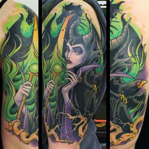 maleficent tattoo ideas  pinterest sleeping