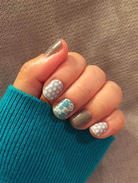 gray pin dot my anywhere my jamberry nails in gray white polka dot and destiny