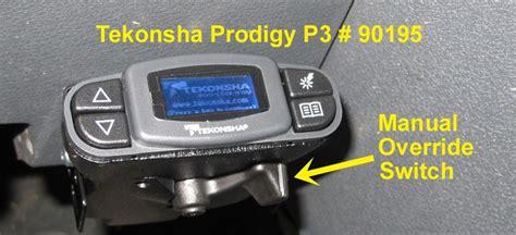 tekonsha prodigy p   manual override switch