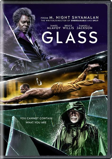 2019 Glass Movie DVD Cover